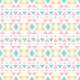 Seamless aztec pattern. Royalty Free Stock Image