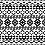 Seamless aztec pattern. Stock Image