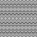 Seamless aztec pattern royalty free stock photography