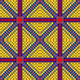 Seamless aztec pattern for printing on paper or fabric. Mexican motifs. Stock Image