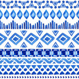 Seamless aztec pattern. Stock Images