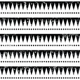 Seamless aztec tribal pattern - retro, grunge style Royalty Free Stock Photo