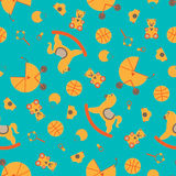 Seamless Baby Element Abstract Pattern Stock Photos