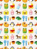 Seamless baby pattern Royalty Free Stock Photo