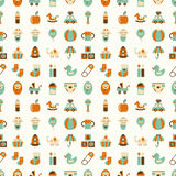 Seamless  baby pattern Stock Images
