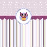 Seamless baby pattern, wallpaper Royalty Free Stock Image