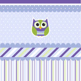Seamless baby pattern, wallpaper Royalty Free Stock Image