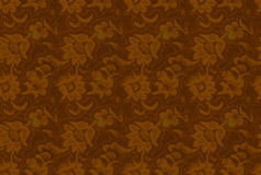 Seamless backgorund: retro floral texture Royalty Free Stock Photography