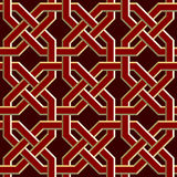 Seamless background. Seamless symmetry background. Vector illustration Stock Image