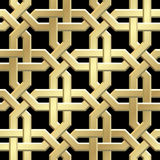 Seamless background. Seamless symmetry background. Vector illustration Royalty Free Stock Photos