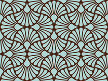 Seamless background. Seamless symmetry  background. Vector illustration Stock Photos