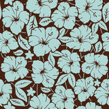 Seamless background. Seamless floral  background. Vector illustration Stock Photos