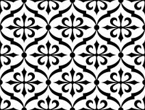 Seamless background. Seamless symmetry background. Vector illustration Stock Images