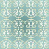 Seamless background. Classic decorative seamless background with floral pattern Stock Image