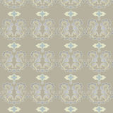Seamless background. Classic decorative seamless background with floral pattern Royalty Free Stock Photo