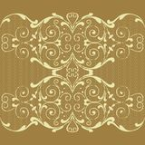 Seamless background. With lace ornaments Vector Illustration
