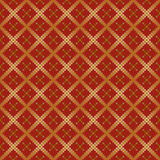 Seamless background. With red stylized squares Stock Illustration