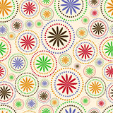 Seamless Background. Seamless Tile with Retro Design royalty free illustration