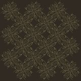 Seamless background, abstract beige, branches and leaves on a white background Royalty Free Stock Photography