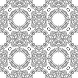 Seamless background with abstract ethnic pattern. Stock Photo