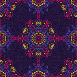 Seamless background with abstract ethnic pattern. Royalty Free Stock Photography