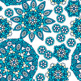 Seamless background with abstract ethnic pattern. Stock Images