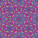 Seamless background with abstract ethnic pattern. Stock Photos