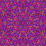 Seamless background with abstract ethnic pattern. Royalty Free Stock Images