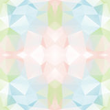 Seamless Background with abstract fractal pattern made of colorf Stock Photo