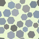 Seamless background abstract geometric hexagon pattern for design. Effect, messy, texture & digital. Seamless background abstract geometric hexagon pattern for vector illustration