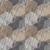 Seamless background with abstract geometric pattern. Scribble texture. Royalty Free Stock Images
