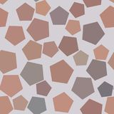 Seamless background abstract geometric pentagon pattern for design. Web, concept, vector & graphic. Seamless background abstract geometric pentagon pattern for Stock Photography