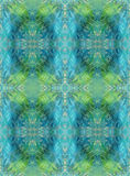 Seamless background. Abstract grunge geometric pattern. Blue and light green Stock Images