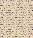 Seamless background of abstract  handwriting Stock Photo