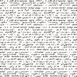 Seamless background of abstract handwriting Royalty Free Stock Photos