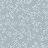 Seamless background with abstract pattern in grey color. Illustration Royalty Free Stock Photography