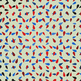 Seamless background with abstract pattern maid of colorful drops Stock Images