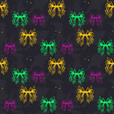 Seamless background from abstract patterns. Of different colors royalty free illustration