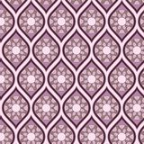 Seamless background in arabesque style Royalty Free Stock Photos