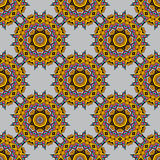 Seamless background with a  Arabic Oriental Turkish motifs Royalty Free Stock Photography