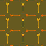 Seamless background with arrows Royalty Free Stock Images