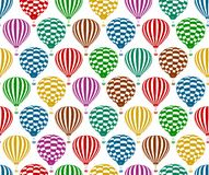 Seamless background with balloons. Royalty Free Stock Images