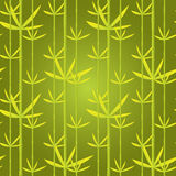 Seamless background with bamboo Stock Photography