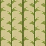 Seamless background with bamboo forest Stock Photos