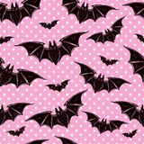 Seamless background with bats. Stock Photo