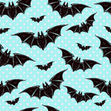 Seamless background with bats. Royalty Free Stock Images