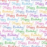 Seamless background for Birthday Stock Photo