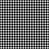 Seamless background with black dots Royalty Free Stock Photos