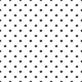 Seamless background with black dots Stock Images