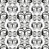 Seamless background. Of black pattern Royalty Free Stock Photo